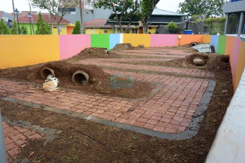 Rumah kelinci - Taman Pemuda Pratama